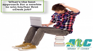 How to get a first job on oDesk as a freelance newbie
