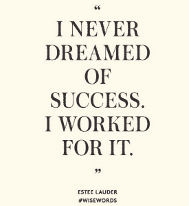 estee lauder-wise-words