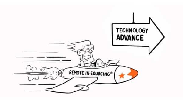 Remote In Sourcing Rocket
