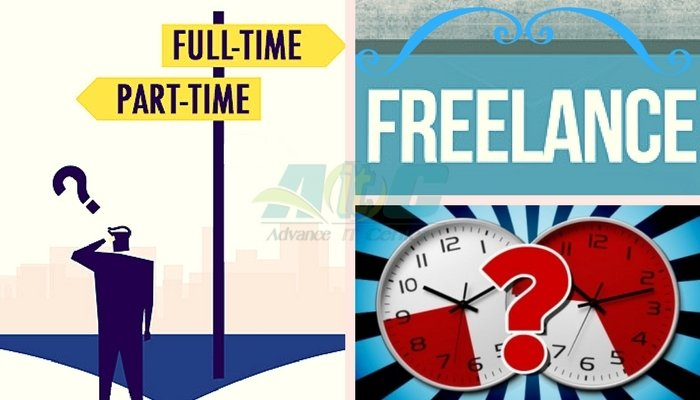 Full-time or Part-time Freelancing