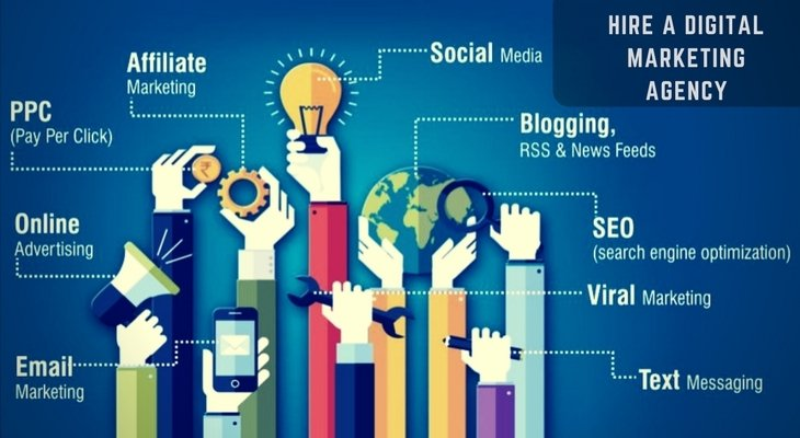 Hire a Digital Marketing Agency to Run your Business Online