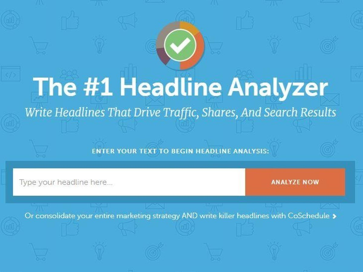 THE COSCHEDULE HEADLINE ANALYZER