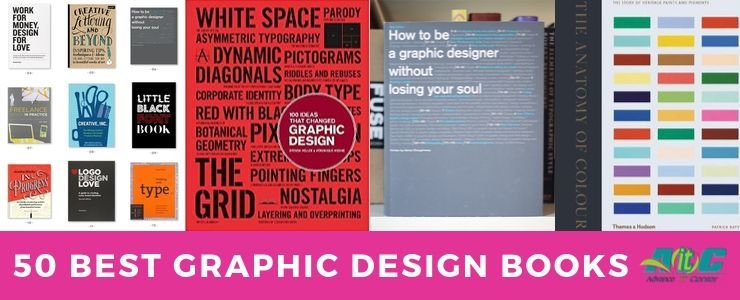 50 Best Graphic Design Books for Aspiring Digital Designers